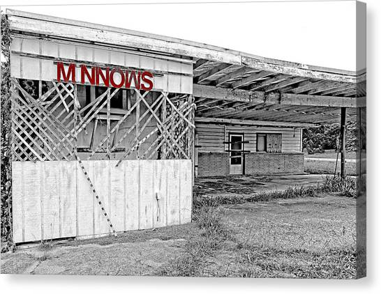 Minnow Shack Canvas Print