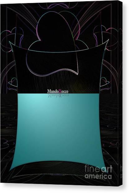 Mint Line Canvas Print