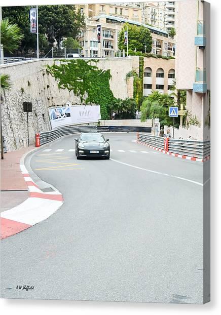 Mirabeau Bas Corner At Monaco Canvas Print