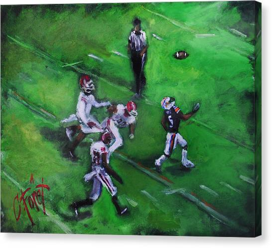 Auburn University Canvas Print - Miracle In The Making by Carole Foret