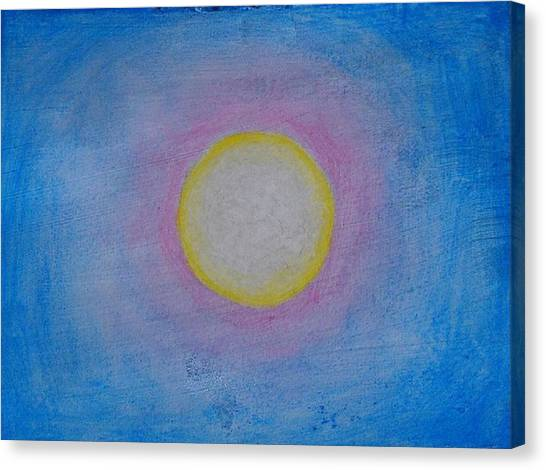 Miracle Of The Sun Canvas Print by Darcie Cristello