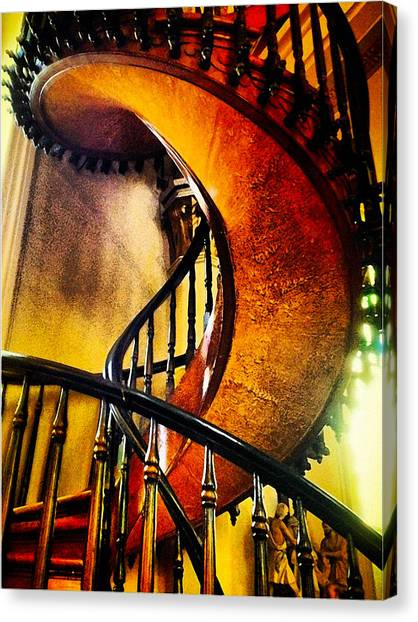 Miracle Staircase Canvas Print