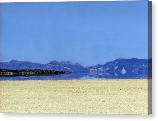 Black Rock Desert Canvas Print - Mirage, Black Rock Desert by Richard W Brooks