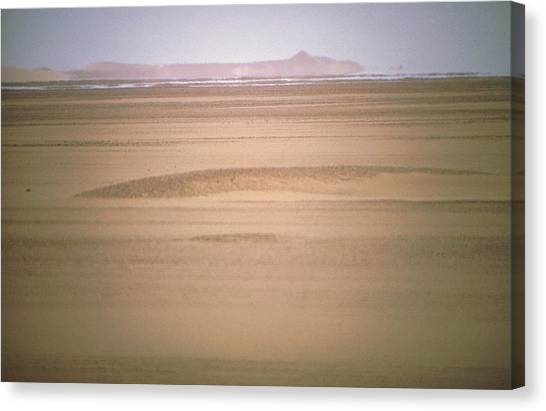 Mirages Canvas Print - Mirage Seen In The Tanzerouft Desert by Sinclair Stammers/science Photo Library
