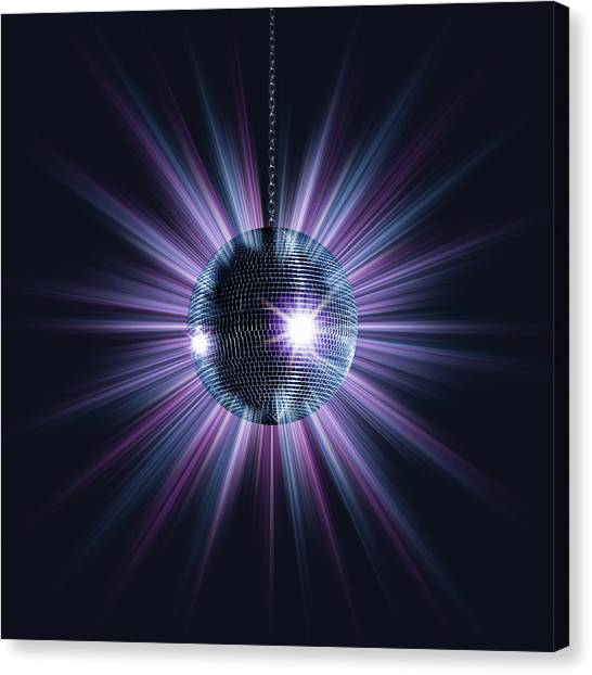 Mirror Ball Canvas Print by Jorg Greuel
