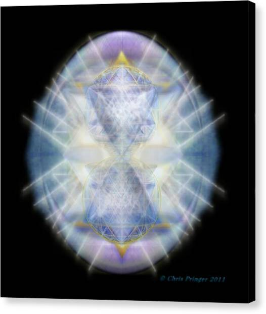 Mirror Healing The Polarities Within Canvas Print