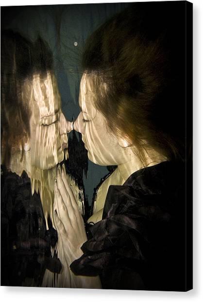 Mirror Mirror Canvas Print by Don Krajewski