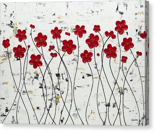 Mis Amores Canvas Print