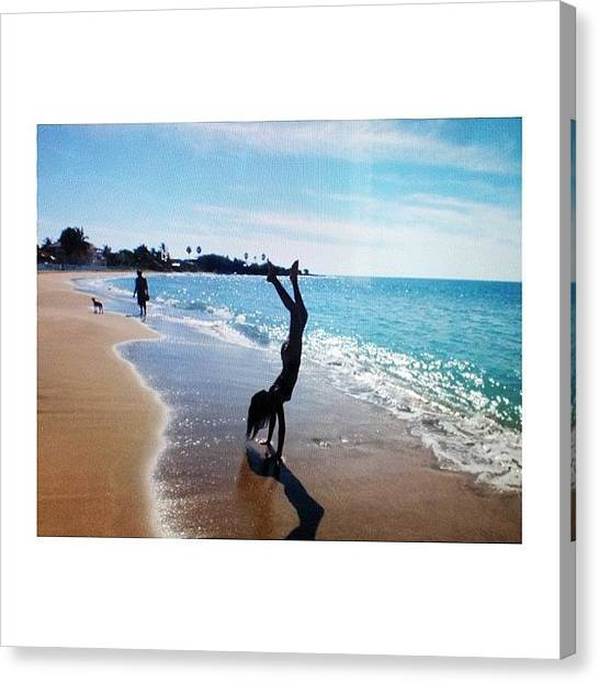Jamaican Canvas Print - Miss It Here So Much💕 #jamaican by Mae Simms