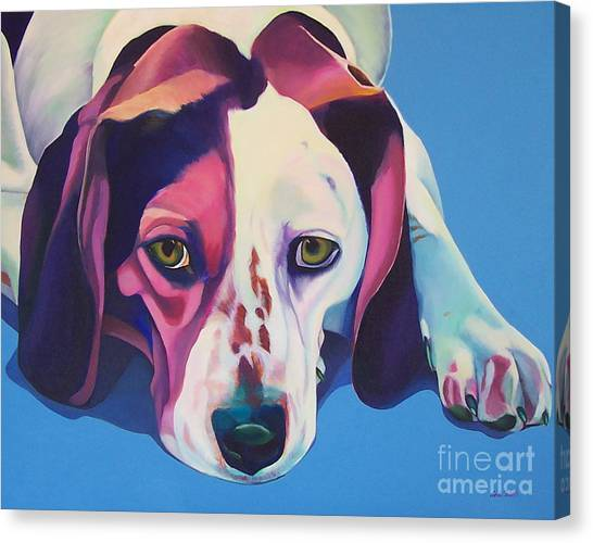 Miss Lucy Mills Canvas Print