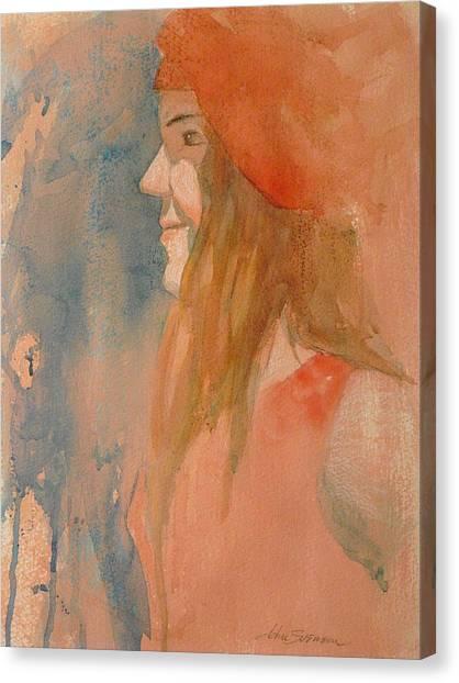 Miss Melody Canvas Print