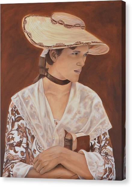 Canvas Print - Miss Nichols by Anne Kushnick