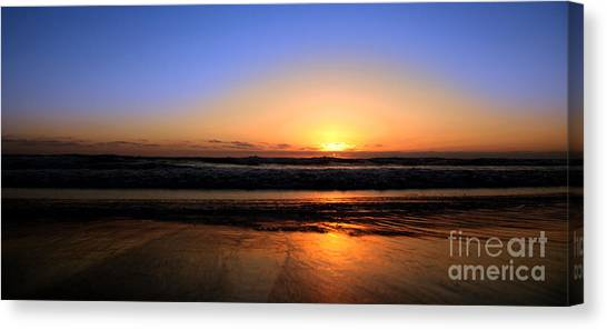 Mission Beach San Diego Canvas Print