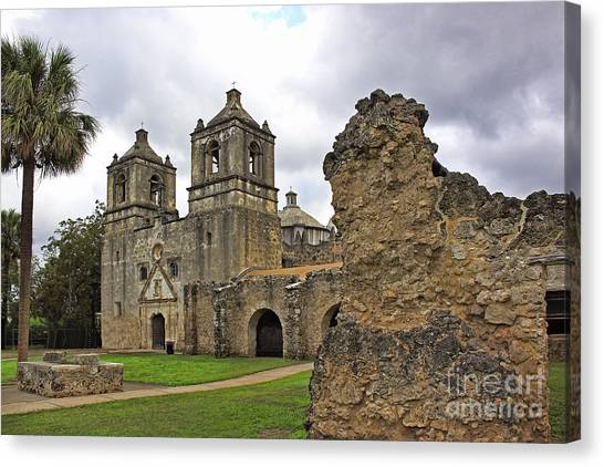 Mission Concepcion Canvas Print