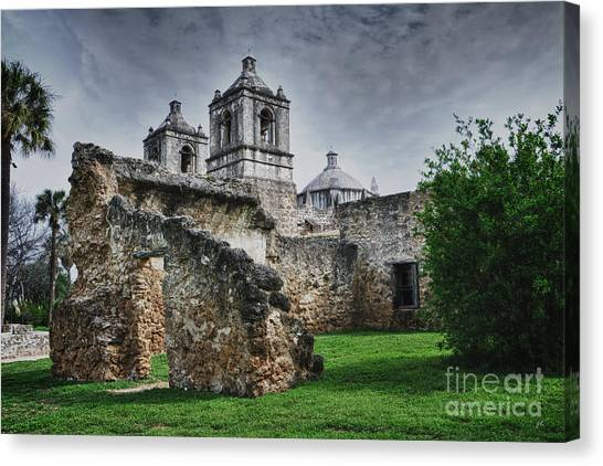 Mission Concepcion San Antonio Texas Canvas Print