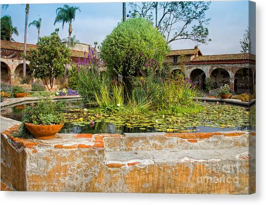 Mission Lilly Pond Canvas Print