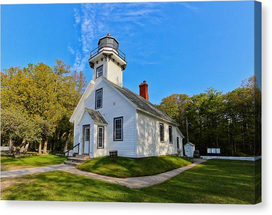 Mission Point Lighthouse 1 Canvas Print