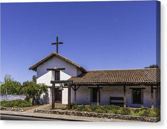 Mission San Francisco Solano Canvas Print