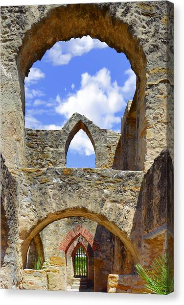 Mission San Jose In San Antonio Canvas Print