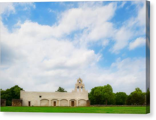 Mission San Juan Capistrano - Texas Canvas Print