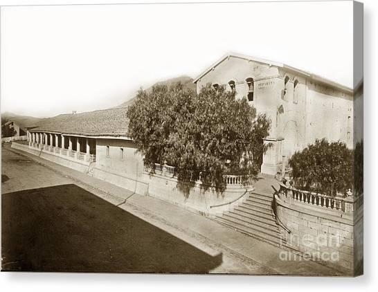 Mission San Luis Obispo De Tolosa California 1880  Canvas Print