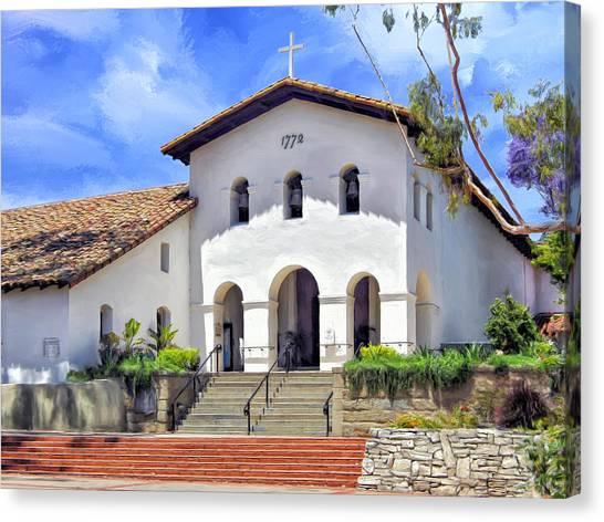 Mission San Luis Obispo De Tolosa Canvas Print