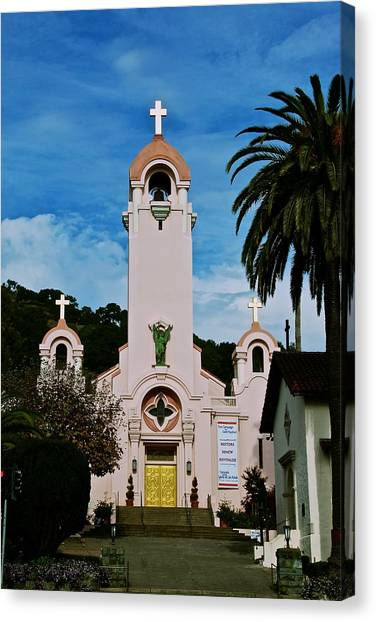 Mission San Rafael Canvas Print