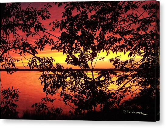 Missisquoi Sunset Canvas Print