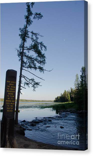 Mississippi Headwaters Canvas Print