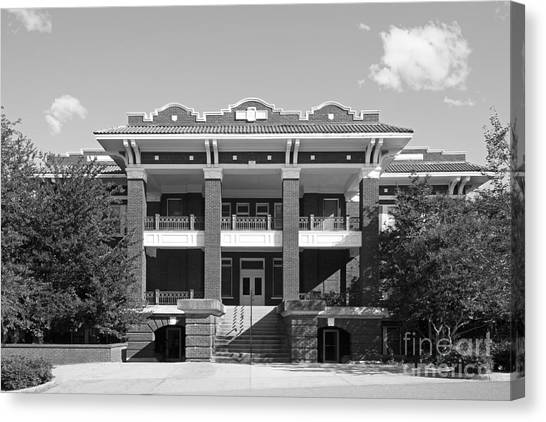 Mississippi State University Canvas Print - Mississippi State University Y.m.c.a Building by University Icons