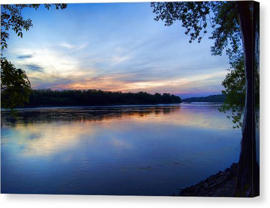 Missouri River Blues Canvas Print
