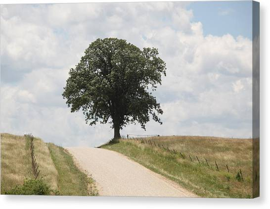 Missouri Road Canvas Print