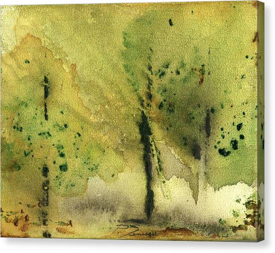 Mist And Morning Canvas Print