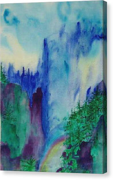 Mist Canvas Print by Phoenix Simpson