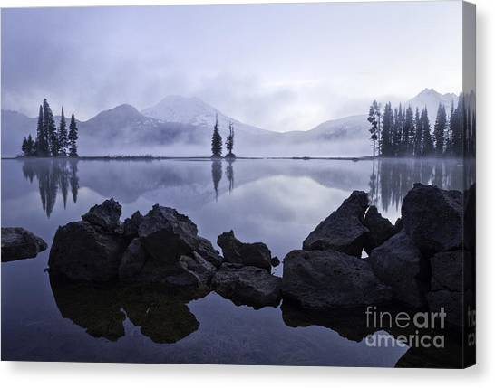 Mist Rising Canvas Print