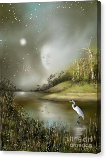 Mistress Of The Glade Canvas Print