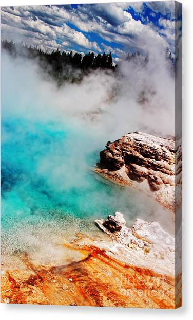 Mists Of Another World Canvas Print