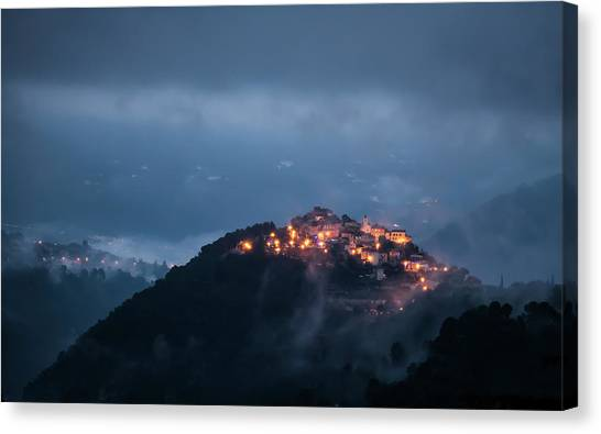 Misty Canvas Print by Art Lionse