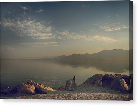 Ca Canvas Print - Misty Memories by Laurie Search