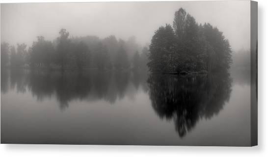 Misty Reflections Canvas Print by Patrick Jacquet