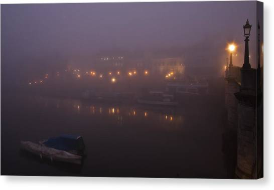 Misty Richmond Upon Thames Canvas Print