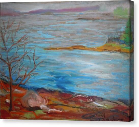 Misty Surry Canvas Print