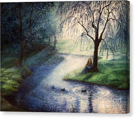 Misty Thoughts Canvas Print