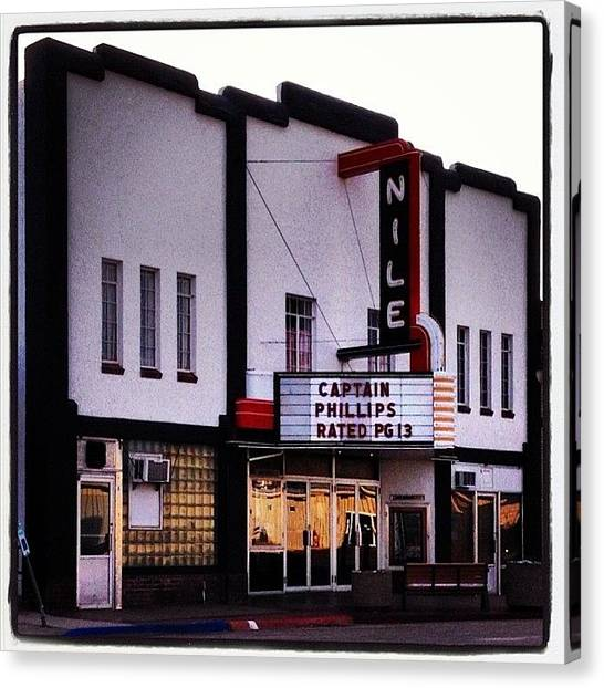 Popcorn Canvas Print - Mitchell Ne #movies #theater #shows by M Hunter