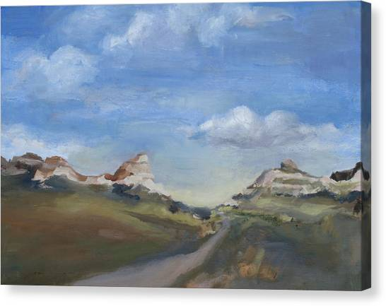 Mitchell Pass Western Nebraska Canvas Print by Leigh Morrison