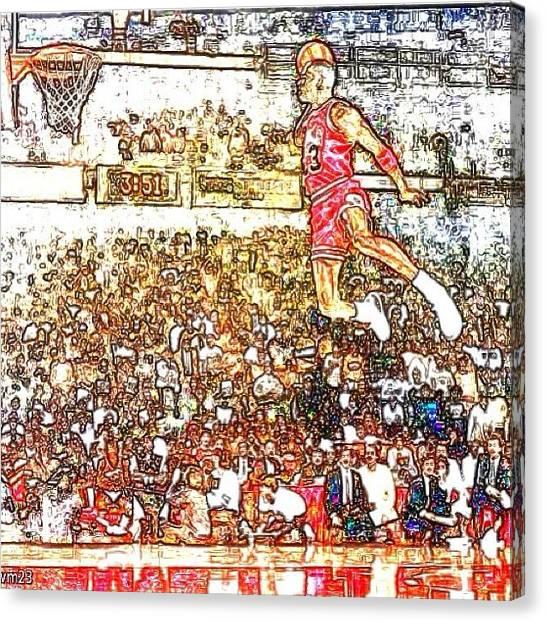 Goats Canvas Print - mj Michael Jordan by Ben Anderson