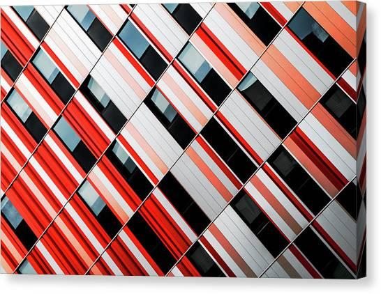 Mo-za Canvas Print by Gilbert Claes