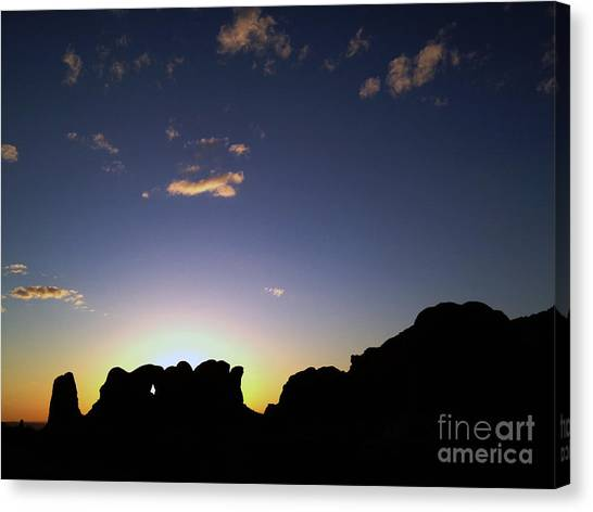 Moab Sunset Canvas Print