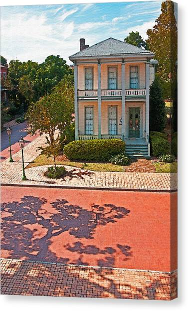 Mobile Victorian Canvas Print by Dennis Cox