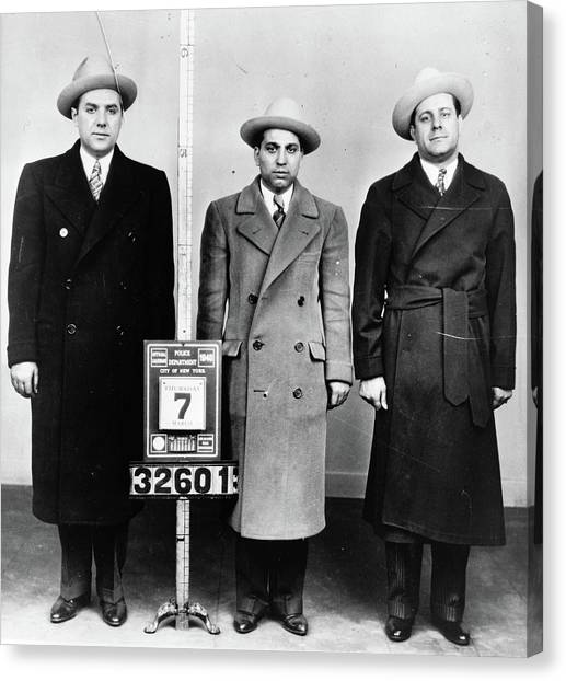 Mobsters, 1940 Canvas Print by Granger